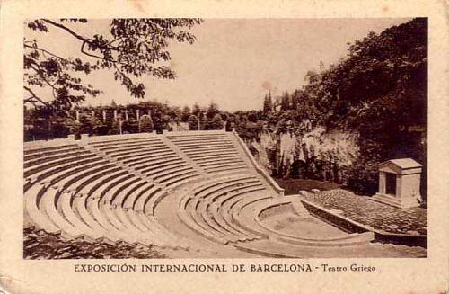Teatro griego de Barcelona